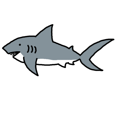 400x400 Shark Clipart Clipartaz Free Clipart Collection