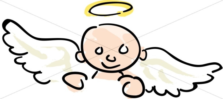 776x346 Nursery Clipart Baby Angel Angel Clipart