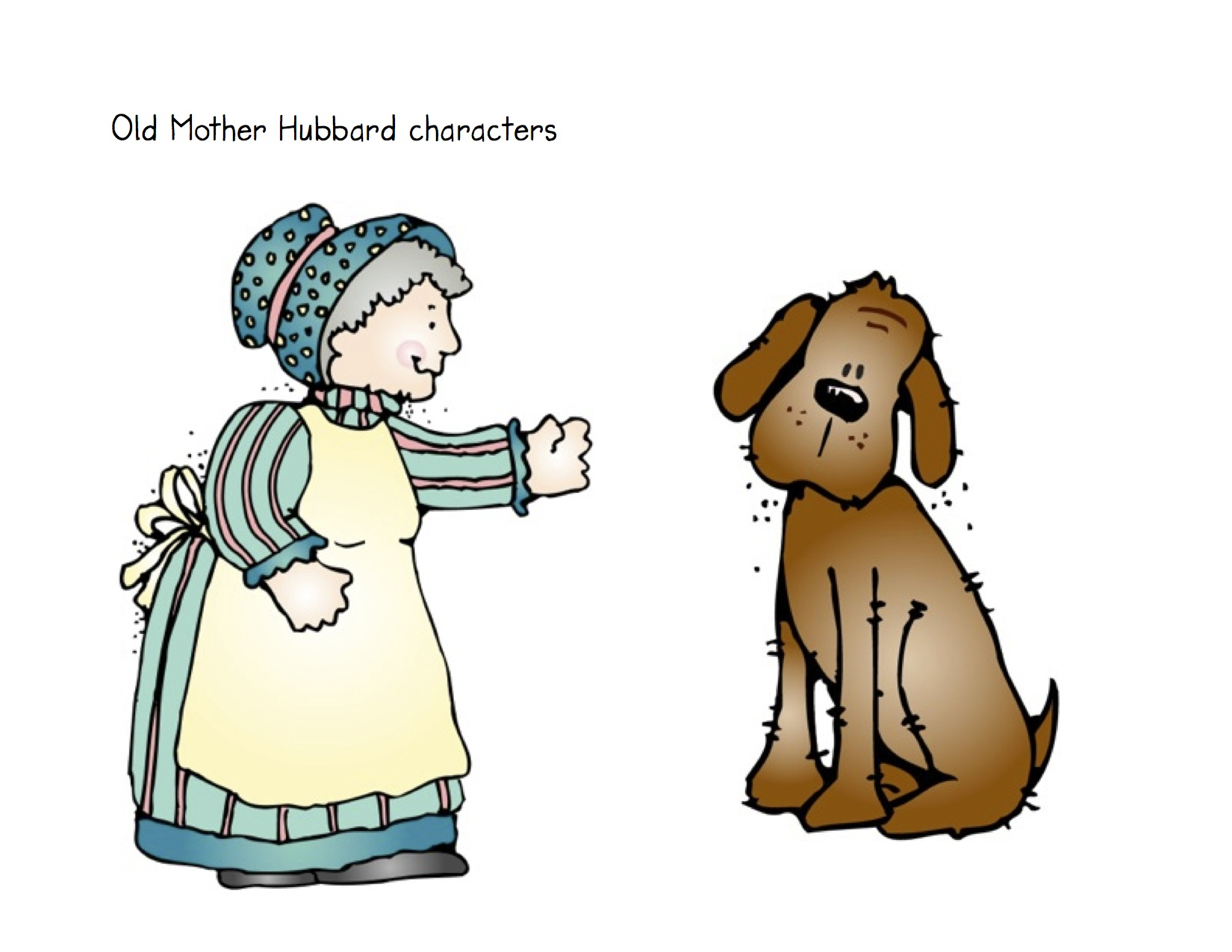 1650x1275 Old Mother Hubbard Clip Art Clipart Collection