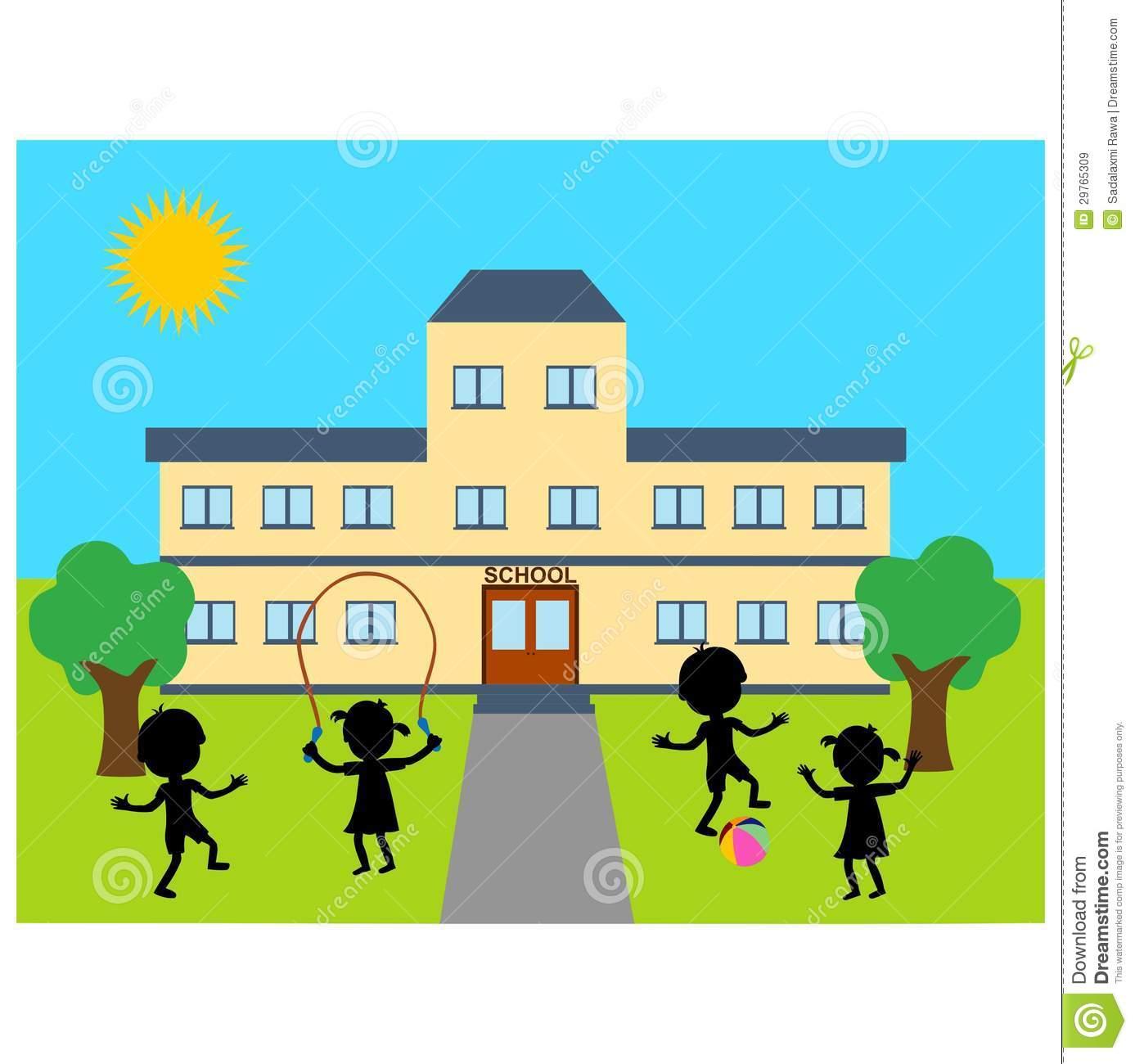 1387x1300 Building Clipart Nursery School