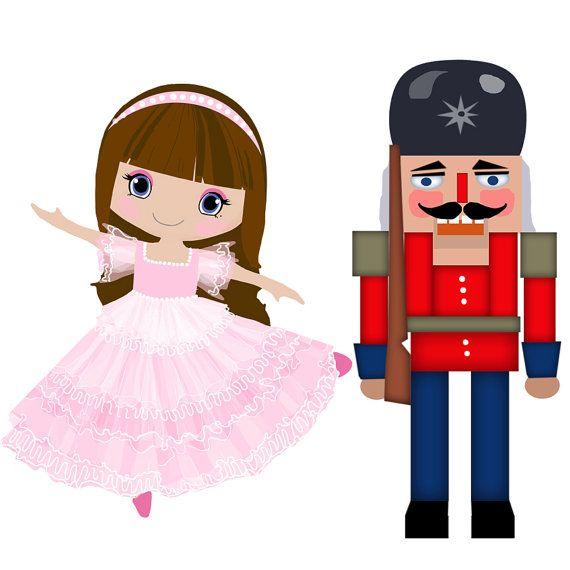 570x570 Nutcracker Ballet Clipart Cascanueces Y Bailarina