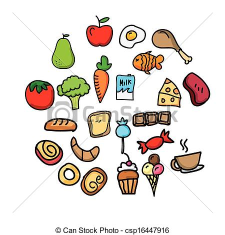 450x470 Nutrition Design Over Lineal Background Vector Illustration Vector
