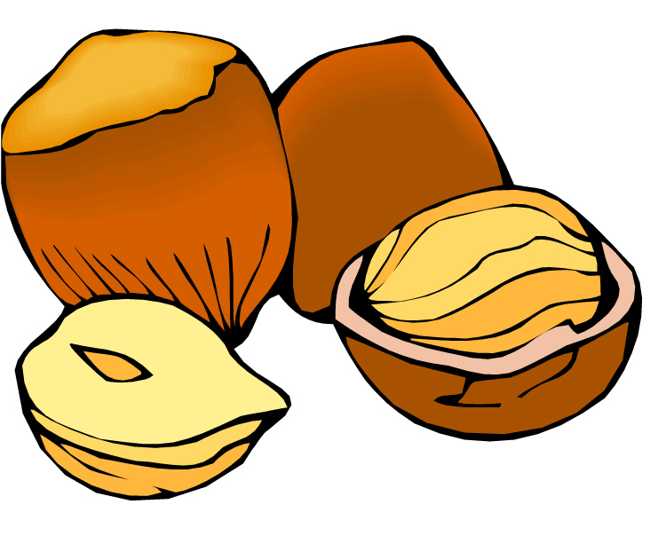 750x604 Nuts Clipart