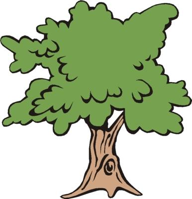 386x400 narra tree clipart oak tree image cartoon big tree images clip art