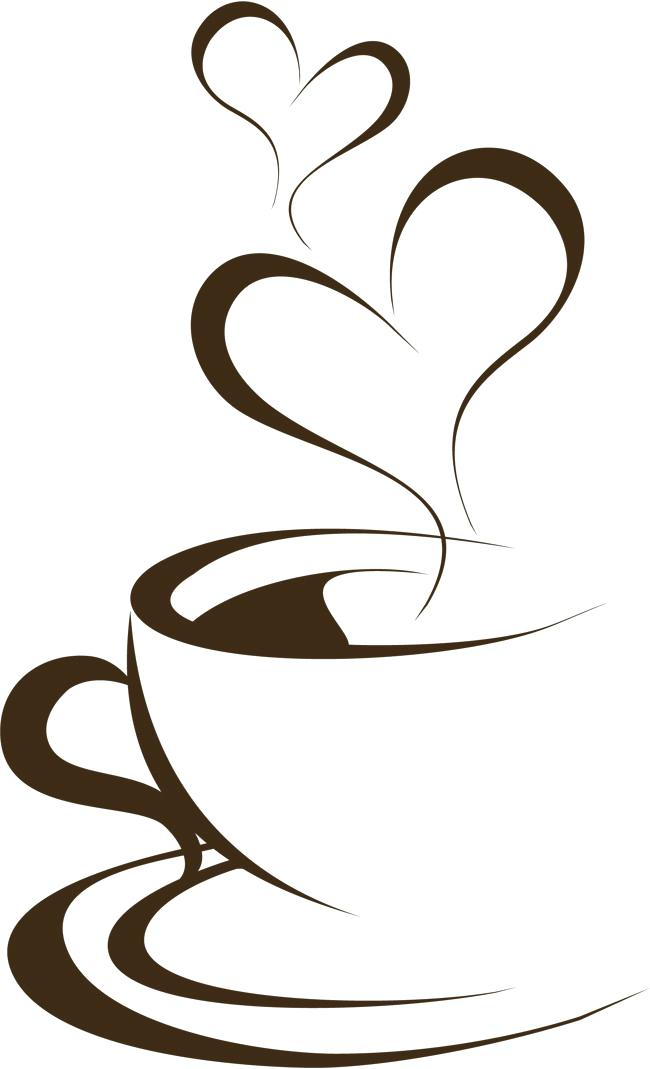 650x1069 Brown Clip Art Hand Painted Brown Coffee Cup Hand Brown Coffee Cup