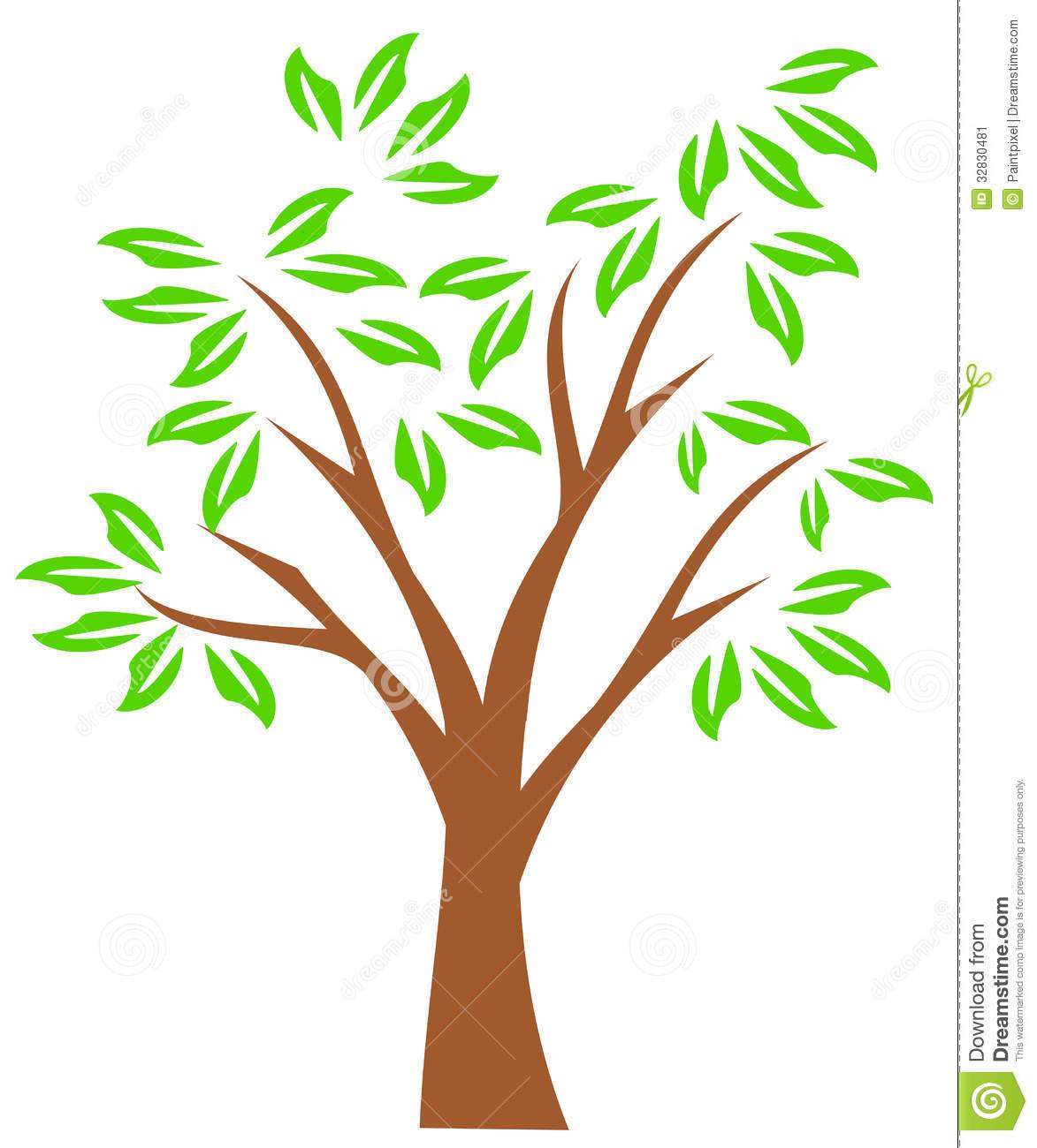 1173x1300 Sweeping Oak Tree Design Free Clip Art Striking Clipart