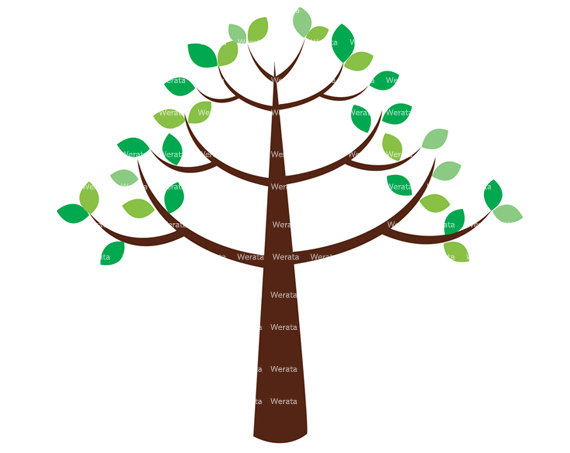 570x453 Amazing Design Tree Clipart Free Sweeping Oak Clip Art