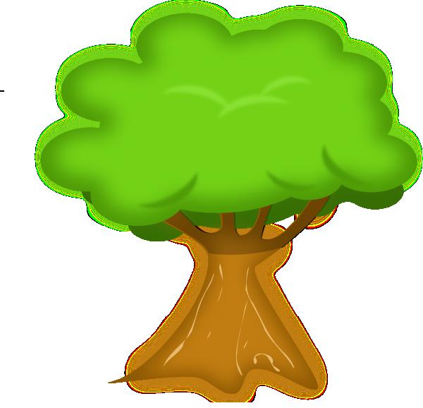 600x578 Big Tree Clipart