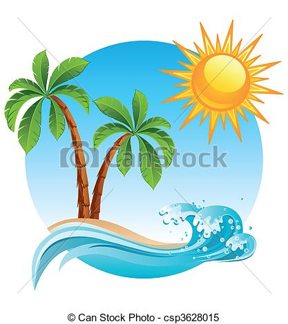 417x470 Tropical Island Clipart Amp Tropical Island Clip Art Images
