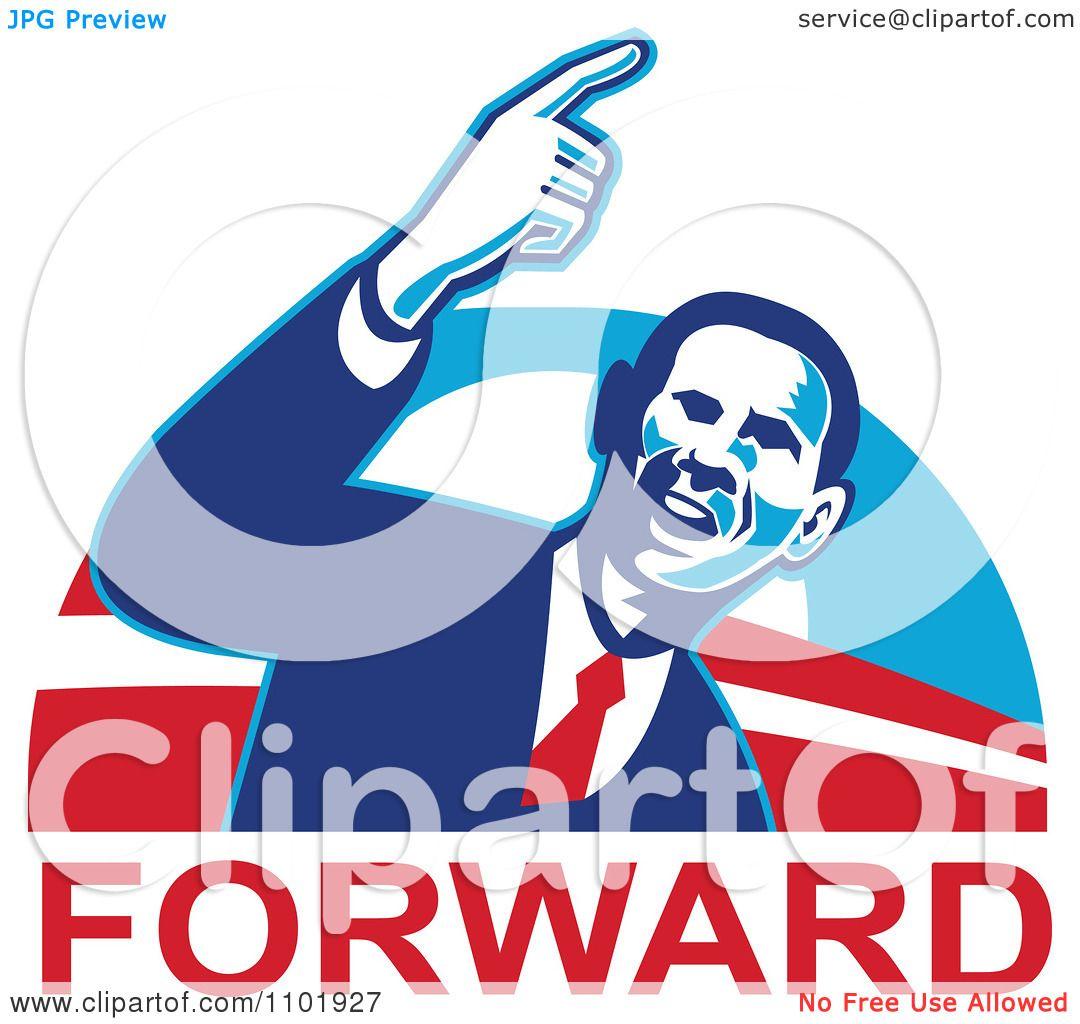 1080x1024 Clipart Barack Obama American President Over Forward Text