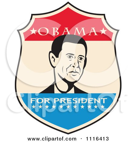 450x470 Royalty Free (Rf) Obama Clipart, Illustrations, Vector Graphics
