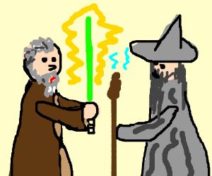 300x250 Obi Wan Kenobi Vs Gandalf