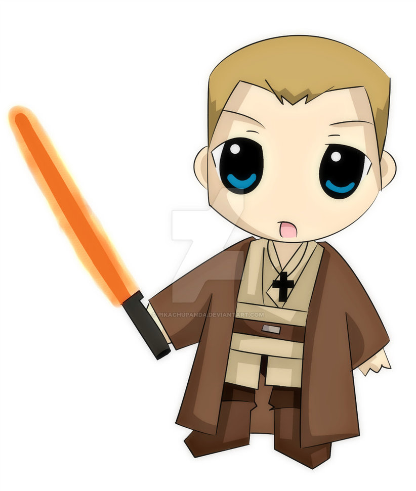 822x971 Chibi Christian Jedi By Pikachupanda