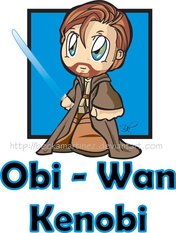 600x791 Chibi Obi Wan By Beckamartinez