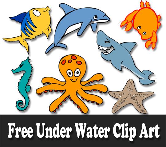 540x480 Free Marine Animals, Ocean Animals Or Under Water Animals Clip Art