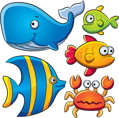 486x480 Animales Marinos Tipo Cartoon 02 Fish, Clip Art And Ocean