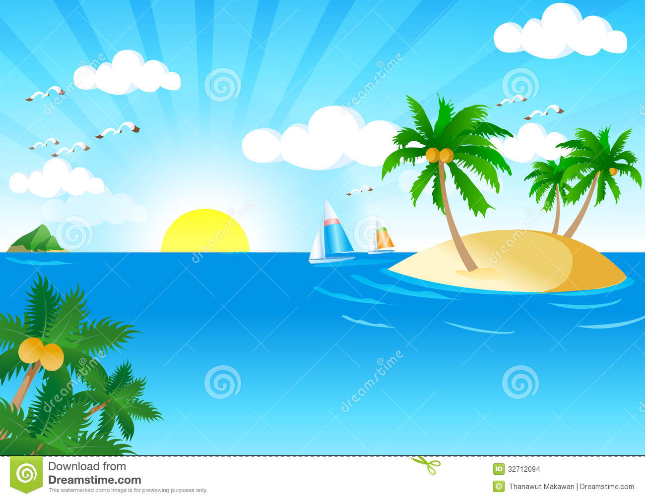 1300x1009 Sunny Clipart Swimming