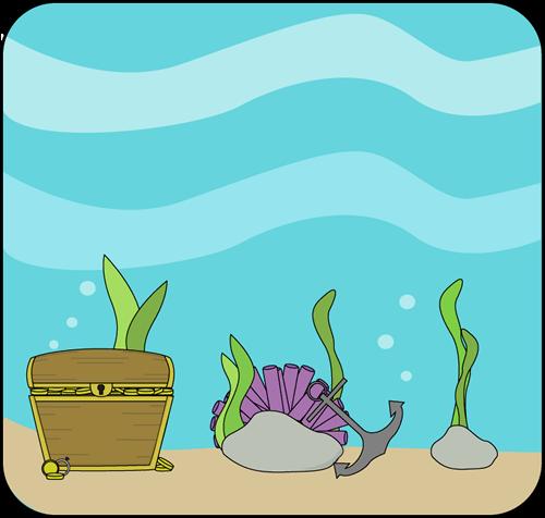 500x476 Ocean Book Cliparts