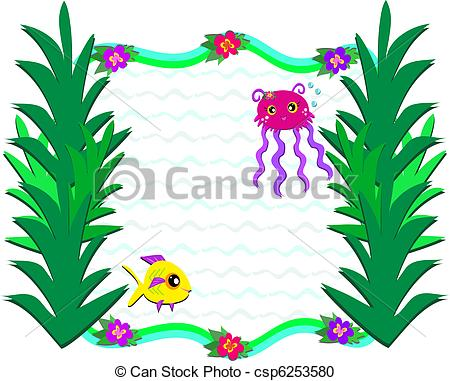 450x381 Ocean Plants Clip Art