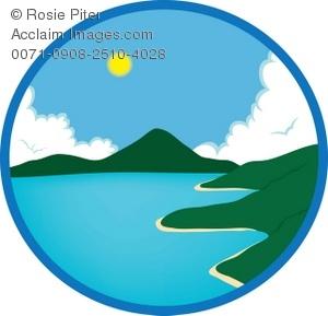 300x289 Coastline Clipart