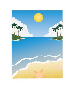 250x300 Landscape Clipart Hawaiian Beach