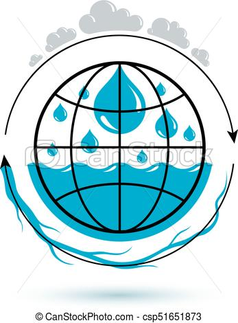 347x470 Ocean Freshness Theme Vector Symbol For Use In Mineral Water