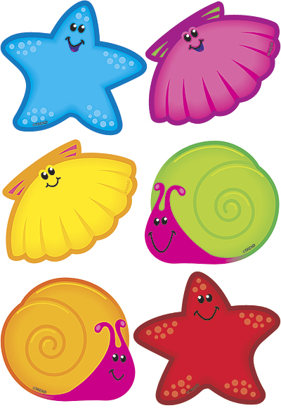 400x580 Snails Starfish Beach Ocean Nautical Theme Free Patterns