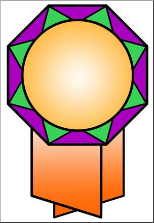 304x440 Clip Art Octagon Award Color I Abcteach