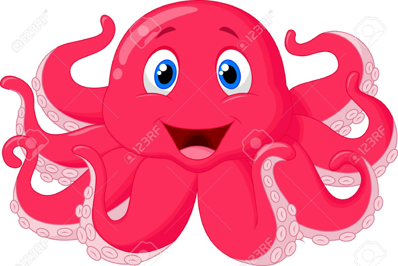 1300x870 Free Cartoon Octopus Clipart Octopus Clipart