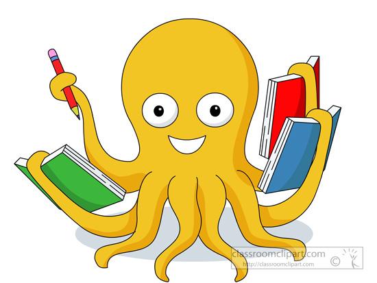 550x413 Animal Clipart Octopus