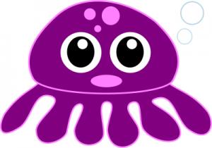 300x210 Purple Cartoon Clip Art Download