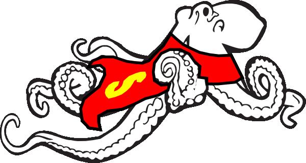 600x320 Super Octopus Clip Art