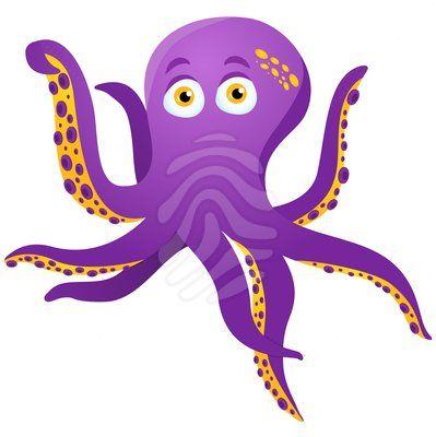 399x400 Beautiful Clip Art Octopus