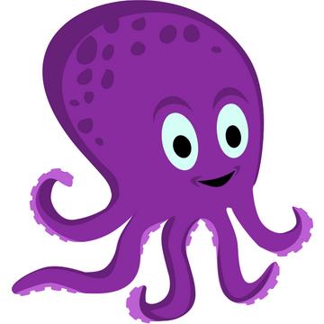 360x360 Fancy Octopus Clipart Octopus