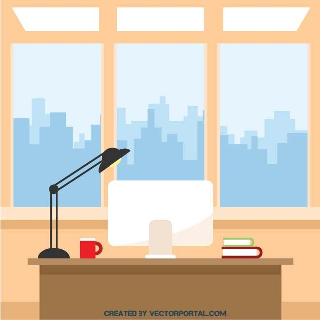 660x660 Office Clip Art Office Interior Clip Art Download