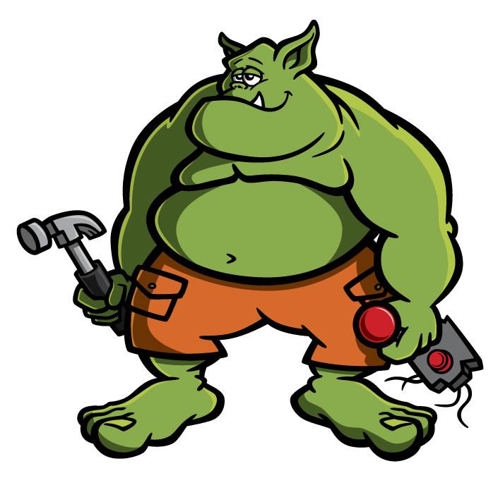 705x678 Ogre Cartoon Character Design Ogre Cartoon Character