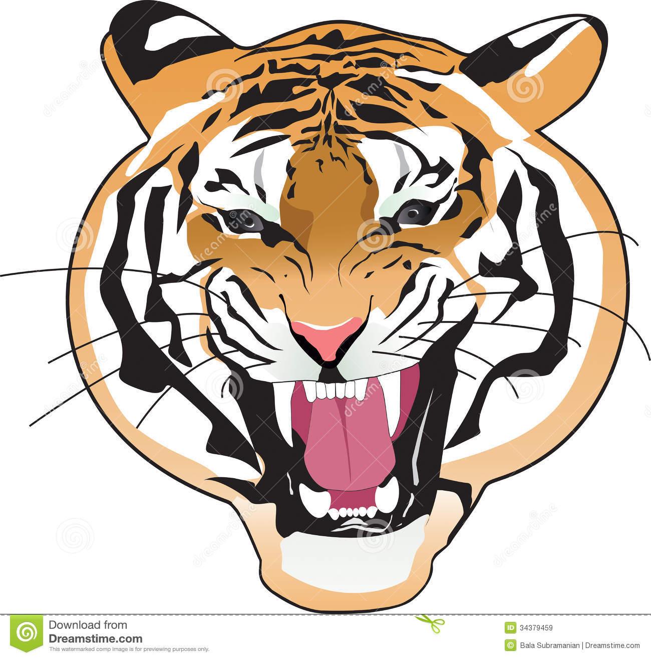 1300x1316 Realistic Clipart Tiger
