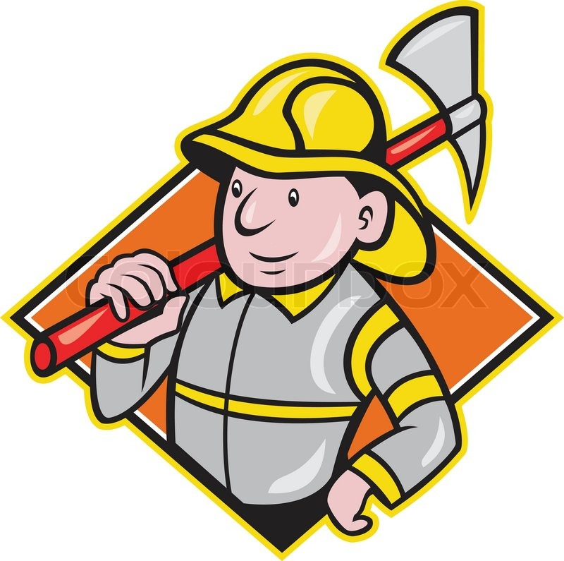 800x795 Fire Fighter Clip Art Black And White. Black And White Firefighter