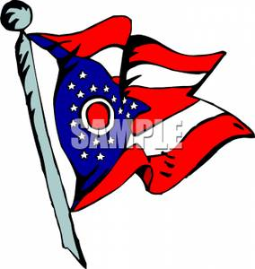 284x300 Collection Of Ohio Flag Clipart High Quality, Free Cliparts