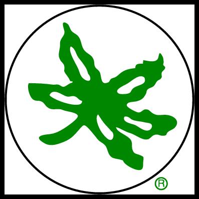 397x397 Ohio State Buckeye Leaf Clip Art