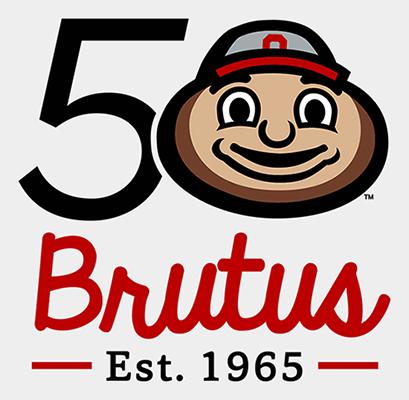 409x400 Ohios State University Brutus Clipart