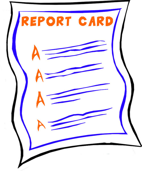 500x600 Report Card Clipart Amp Look At Report Card Clip Art Images