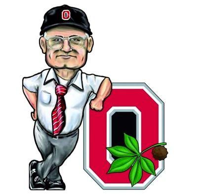 425x397 Brutus Buckeye Celebrates Ohio State's Win