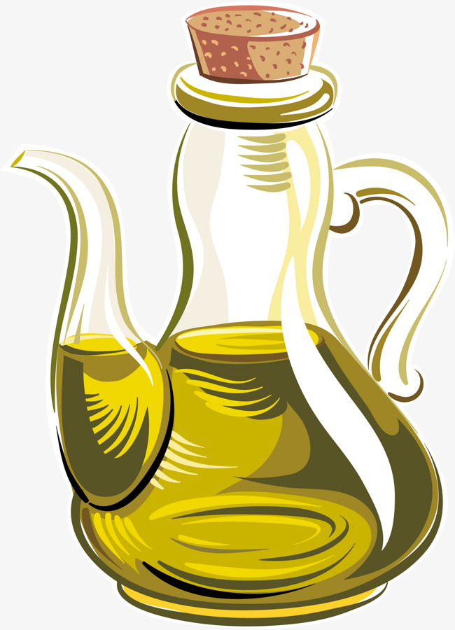 650x900 Cartoon Vector Oil Pot, Olive Oil, Good Oil, Lecythus Png Image