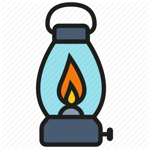 512x512 Gas Lamp Clip Art. Awesome Camping Fire Gas Lamp Outdoor Survival