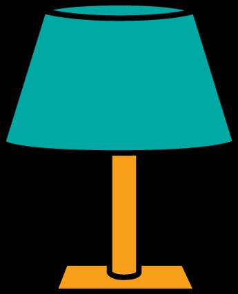 345x427 Lamp Clipart