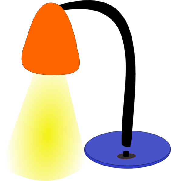 564x599 Lamps Clipart
