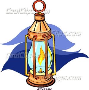 300x304 Oil Lamp Vector Clip Art