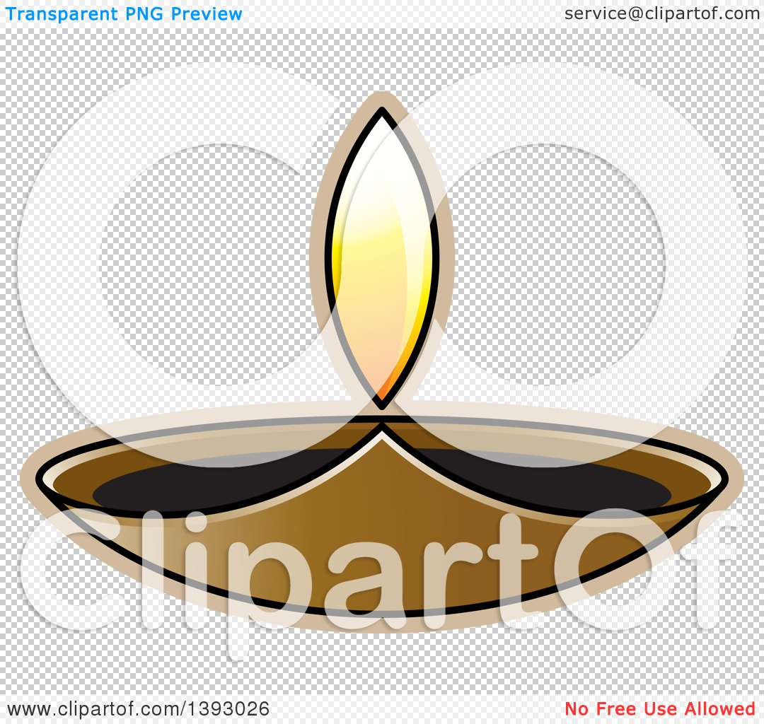 1080x1024 Clipart Of A Lit Oil Lamp