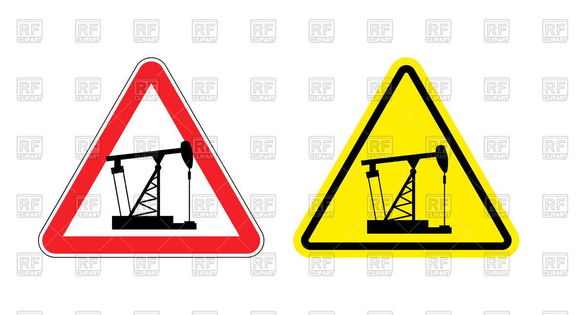 1200x648 Oil Pumpjack (Oil Derrick) Sign Royalty Free Vector Clip Art Image